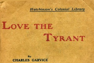 Book Cover : Love the Tyrant