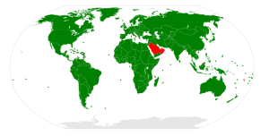 Countries which proclaim themselves to be democratic.