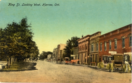 To show Harrow, Ontario, in the early 20th Century