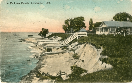 Showing Colchester Ontario as it was in the past
