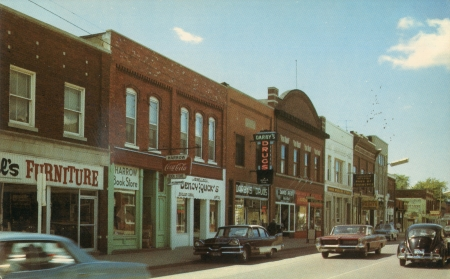 Showing Harrow Ontario as it was in the 60s