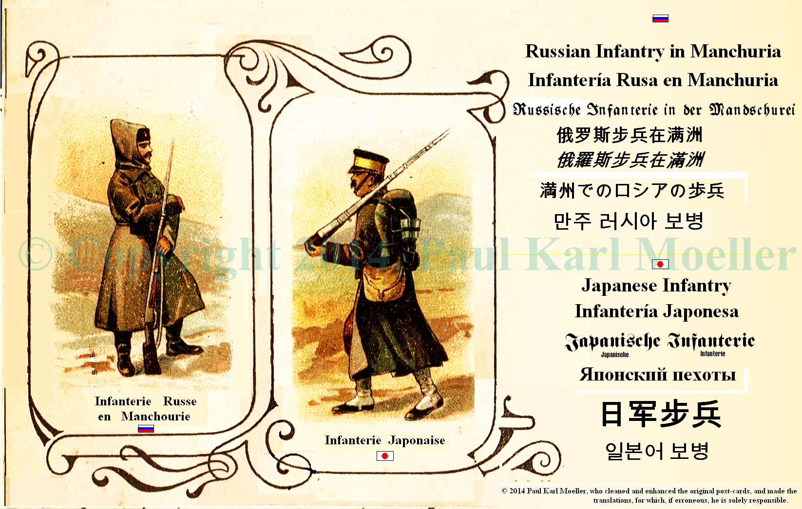 Russo Japanese War History Through Old Postcards