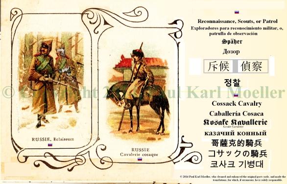 Russian Recon, Cavalry