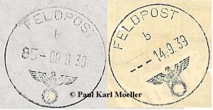 Feldpostnummer Stempel