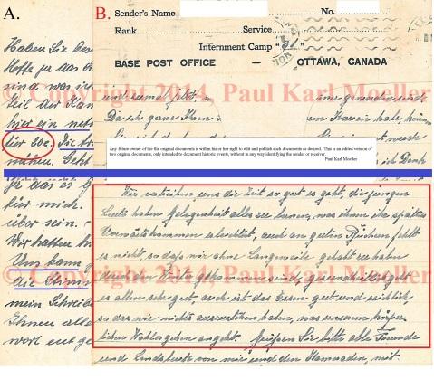 Kriegsgefangenerpost - POW mail (outgoing)