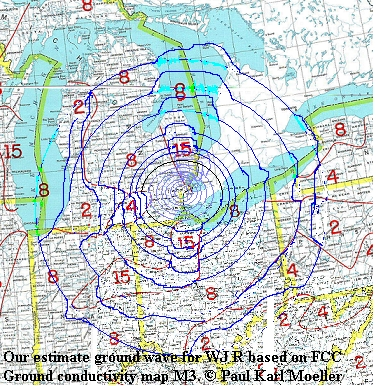 WJR ground wave